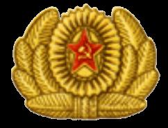 Кокарда к повседневной фуражке и папахе маршалов и генералов авиации