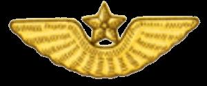 Эмблема на тулью к фуражке маршалов, генералов, офицеров и сержантов сверхсрочной службы авиации и ВДВ