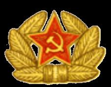 Кокарда на фуражку сержантов и старшин срочной службы, солдат, курсантов и суворовцев