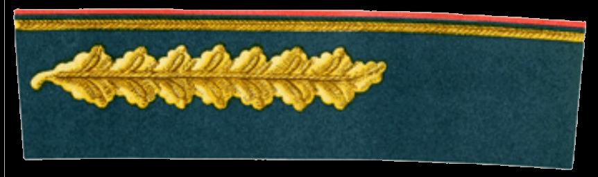 Шитье на воротнике и обшлагах парадного мундира Маршалов Советского Союза