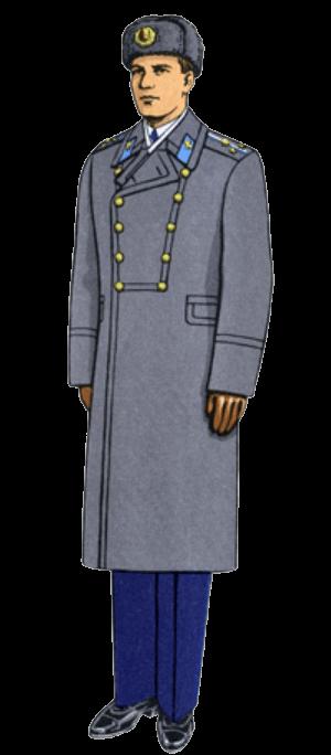 Парадно-выходная форма одежды в авиации и ВДВ