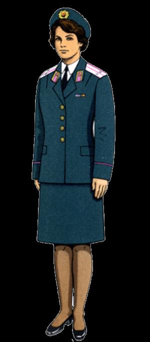 Парадно-выходная форма одежды (кроме авиации и ВДВ)