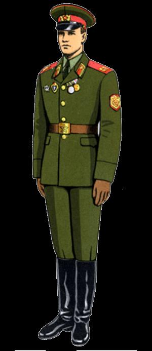 Летняя парадная форма одежды сержантов, солдат срочной службы и курсантов