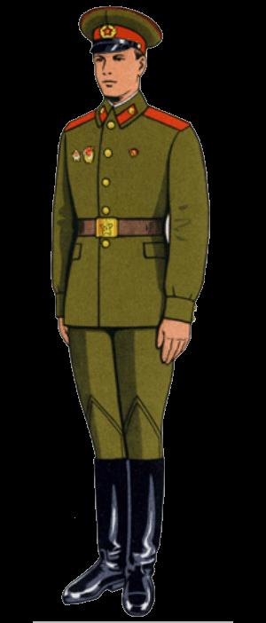 Летняя повседневная форма одежды сержантов, солдат срочной службы и курсантов (кроме ВДВ)