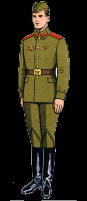 Летняя полевая форма одежды сержантов, солдат срочной службы и курсантов