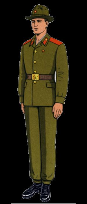 Летняя облегченная полевая форма одежды сержантов, солдат срочной службы и курсантов