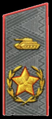 Главный маршал бронетанковых войск (для шинели)