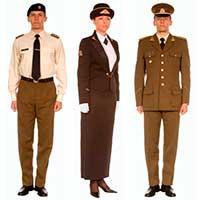 Униформа Сухопутных войск Литвы