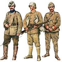 Униформа турецкой армии 1909-1918 годов