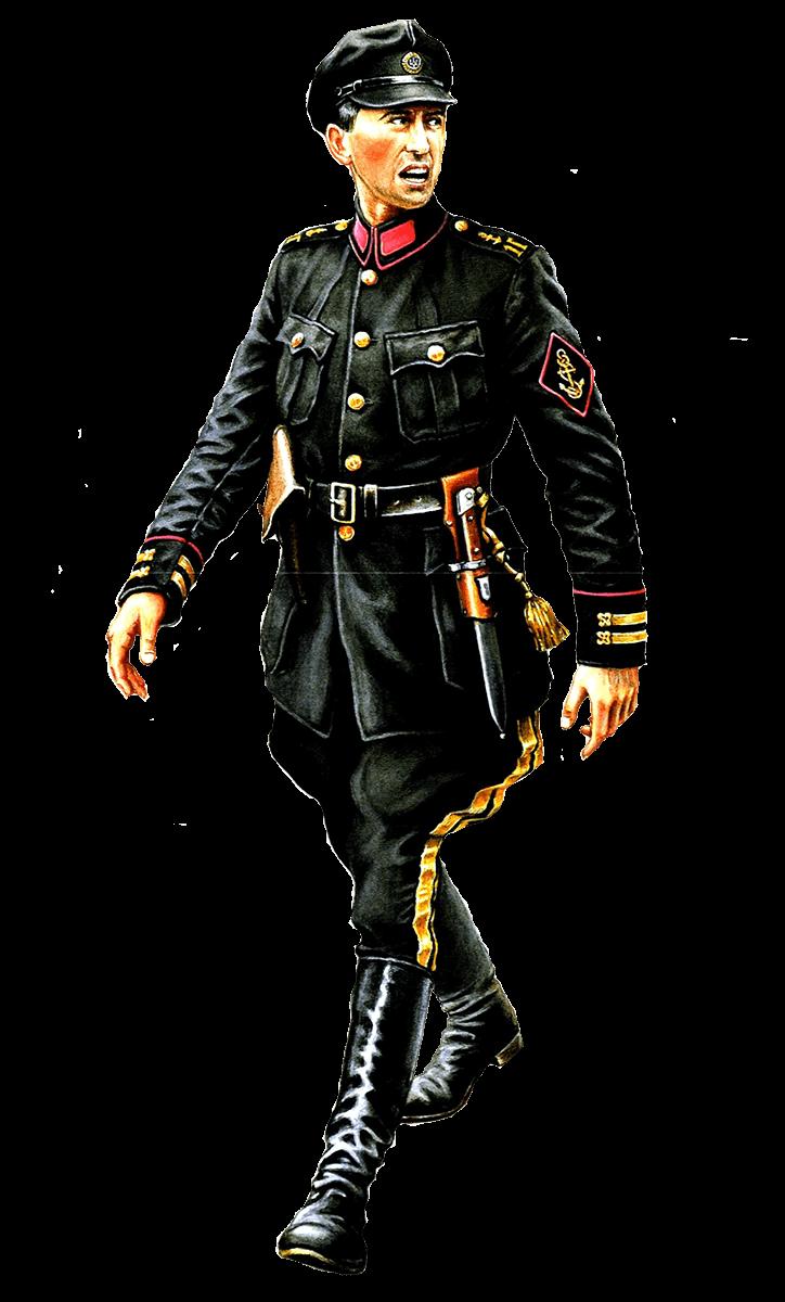 Униформа ВМС УНР 1917 — 1921 годов