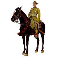 Американский кавалерист 1891 – 1920 годов