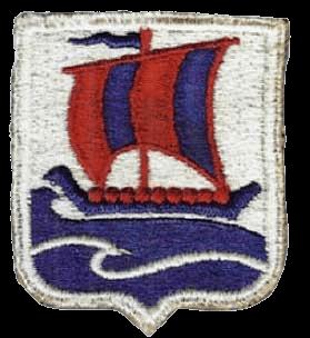Шеврон 99 отдельного пехотного полка «Викинги», который носился на правом рукаве.